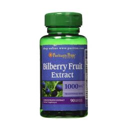 Bilberry Fruit Extract 1000 mcg