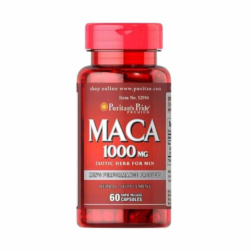Puritan's Pride   - Maca 1000 mg Exotic Herb for Men