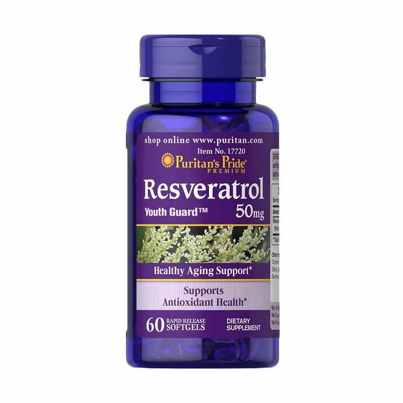 Puritan's Pride   - Resveratrol 50 mg