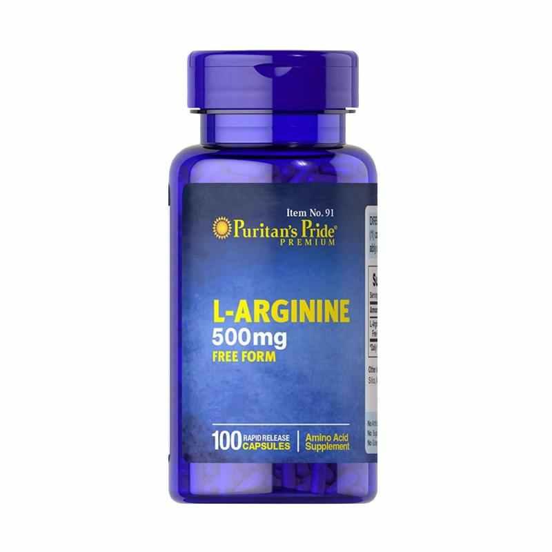 Puritan's Pride   - L-Arginine 500 mg