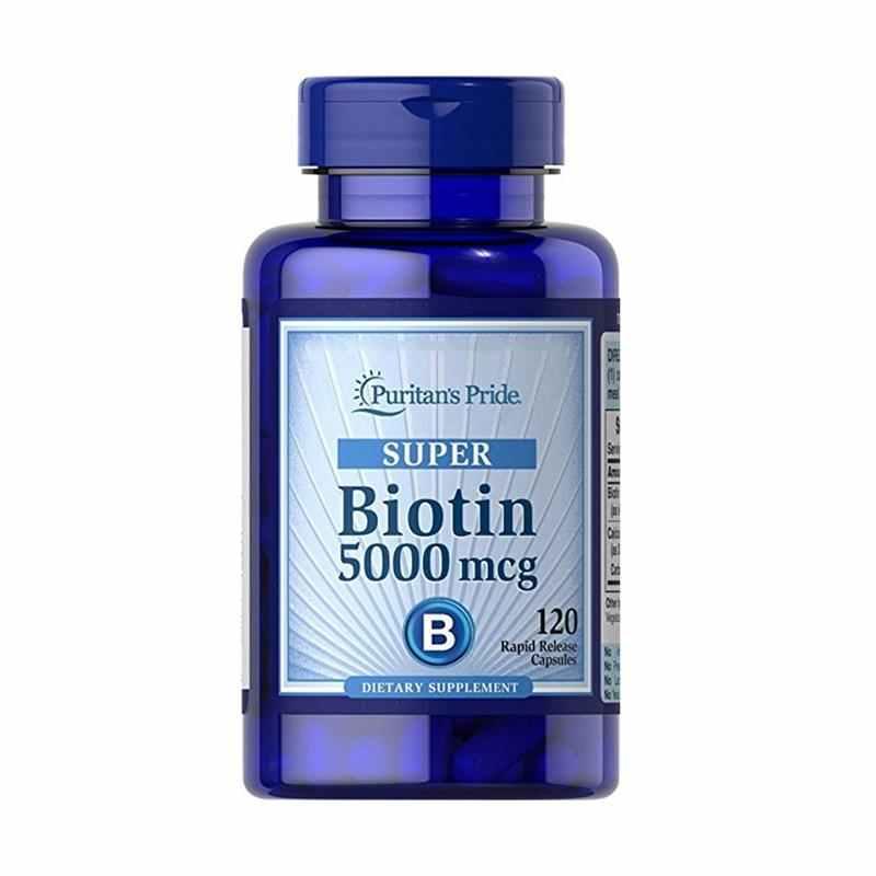Puritan's Pride   - Super Biotin 5000 mcg
