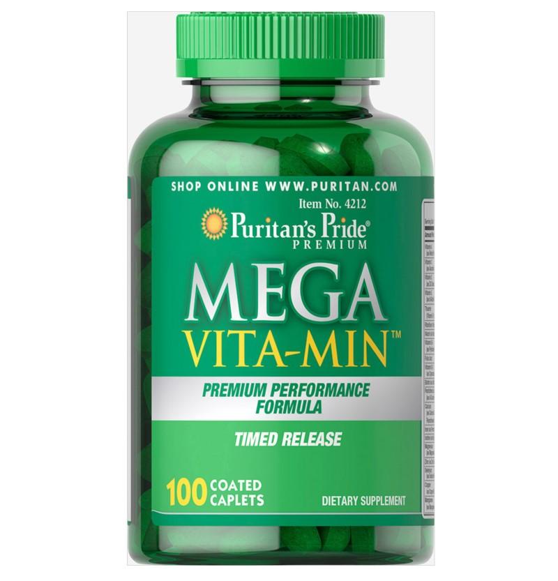 Puritan's Pride   - Mega Vita-Min™ Multivitamin