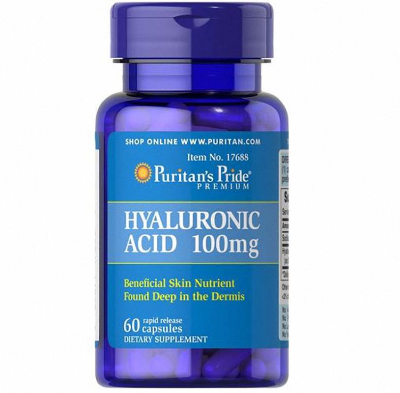 Puritan's Pride   - Hyaluronic Acid 100 MG