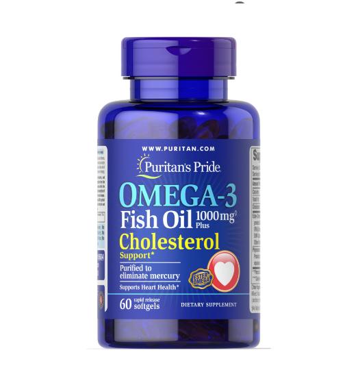 Puritan's Pride   - Omega-3 Fish Oil  1000 mg