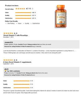 Vitamin C -1000 mg